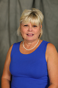 Digital portrait photograph of employee Joannie Yarbrough